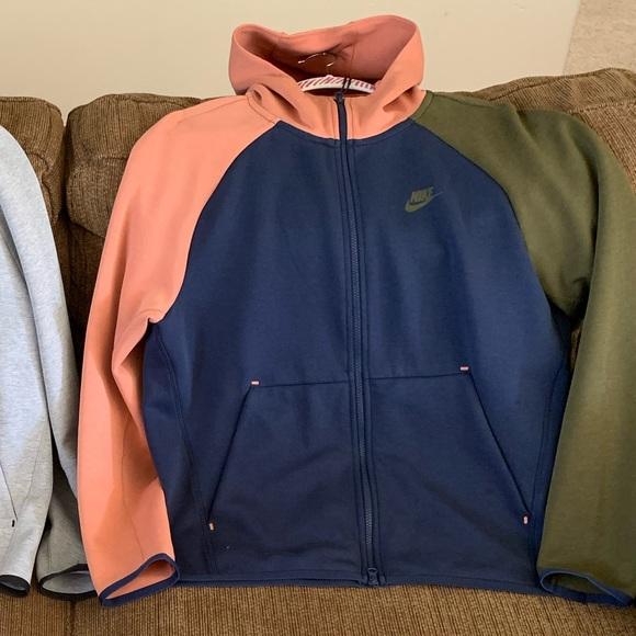 Nike Jackets Coats Nike Tech Fleece Hoodie Poshmark